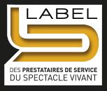 label prestataires de service du spectacle vivant